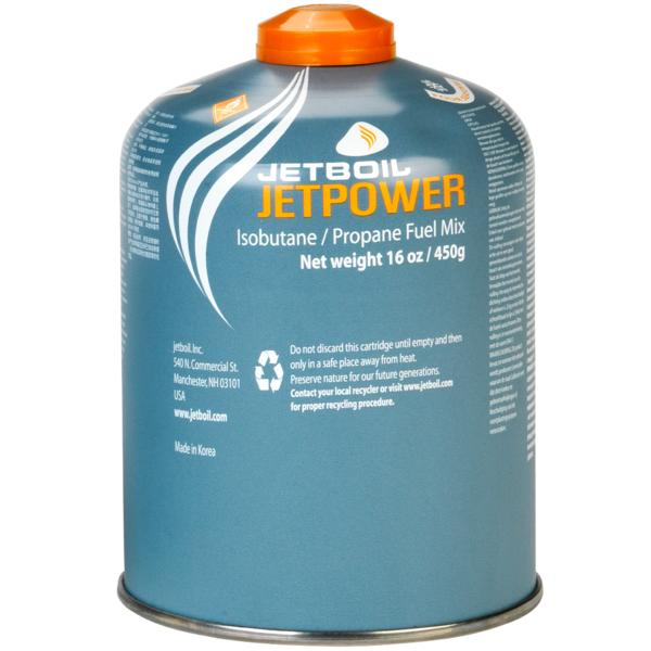 Jetboil Jetpower Gas, threaded canister, 450g