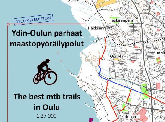 The Best Mtb Trails In Oulu Map Waterproof Shelby