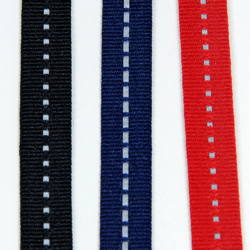 Thin Tape with Reflective Stripe, 10 mm, 18.4 meters
