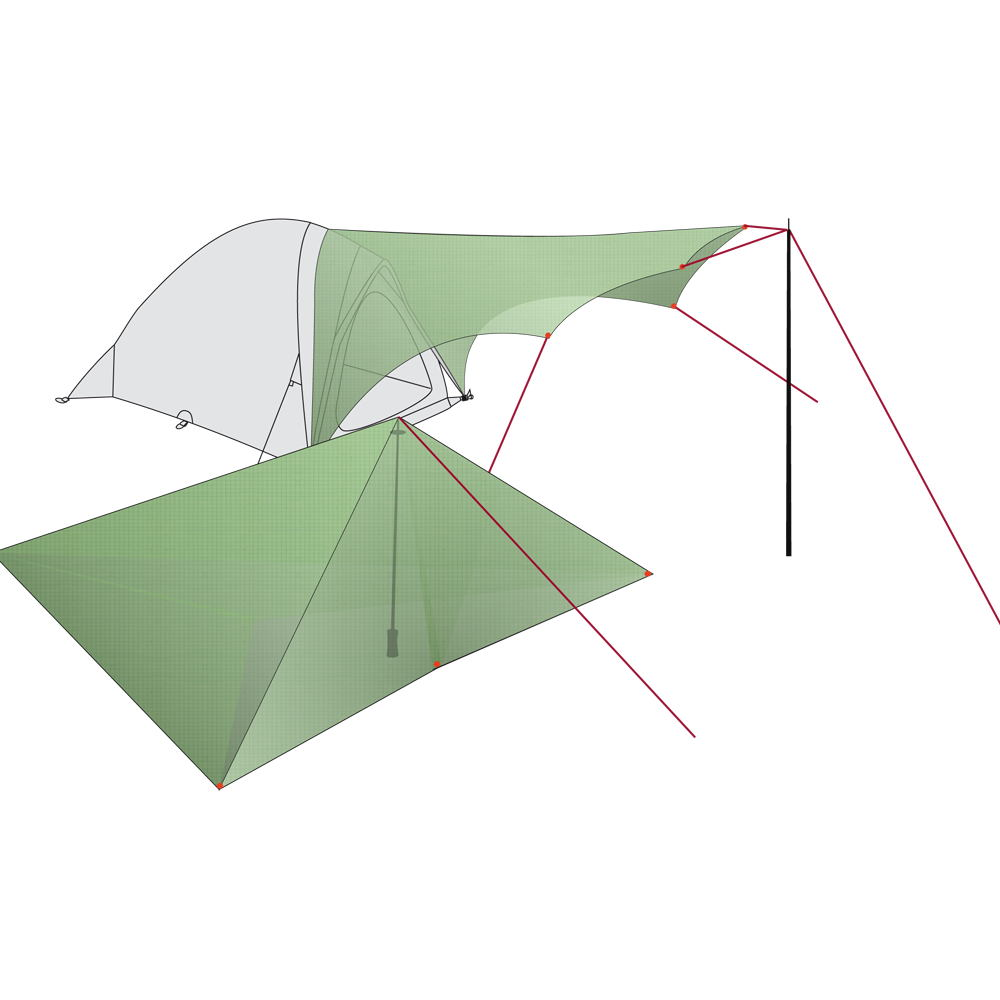 Vaude Wing Tarp Ultra Light