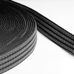 25 mm Grip Webbing, Double Sided, PP, Blue 40 m Roll
