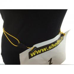 Shelby Race Bib Number Belt