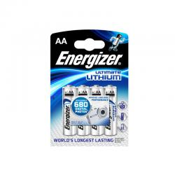 Energizer Ultimate Lithium AA Battery, 4pcs.