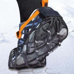 EzyShoes X-Treme Anti-Skid Overshoe Snow Chains