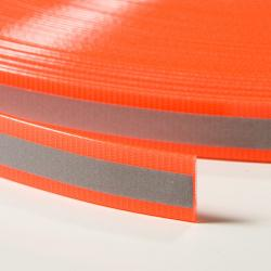 TPU Webbing With Reflective Stripe 20 mm